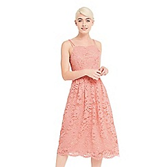 Oasis - Lace cami midi dress