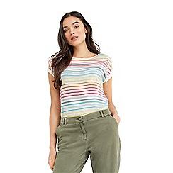 Oasis - Rainbow slub t-shirt