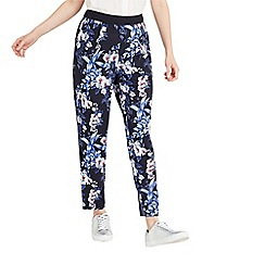Oasis - Tropical orchid soft trousers
