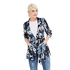 Oasis - Tropical orchid soft blazer