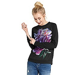 Oasis - Dream woven front sweatshirt