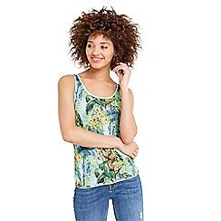 Oasis - Tropical print vest
