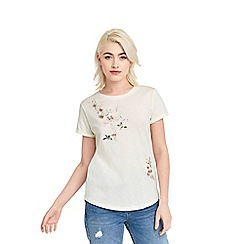 Oasis - Spring embroidered t-shirt