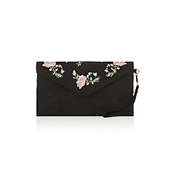 Oasis - Rose embroidered clutch