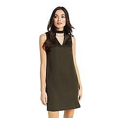 Oasis - Choker v neck dress