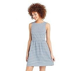 Oasis - Stripe dobby skater dress