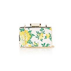 Oasis - Ascot blossom box clutch