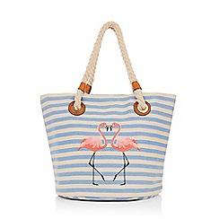 Oasis - Flamingo shopper bag