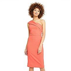 Oasis - One shoulder pencil dress