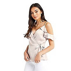 Oasis - Frill wrap camisole top