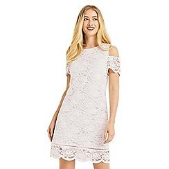 Oasis - Cold shoulder lace dress