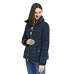 Oasis - Navy 'natalie' padded jacket
