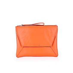 Oasis - Leather dex clutch
