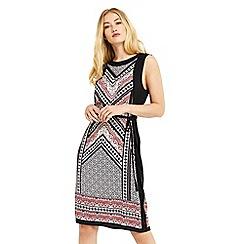 Oasis - Tribal woven front midi dress