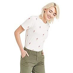 Oasis - Glitter flamingo t-shirt