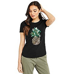 Oasis - Embellished pineapple t-shirt