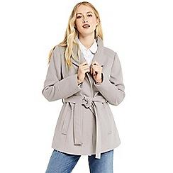 Oasis - Leah funnel coat