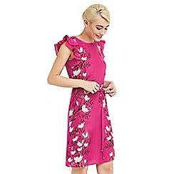 Oasis - Magnolia ruffle t-shirt dress