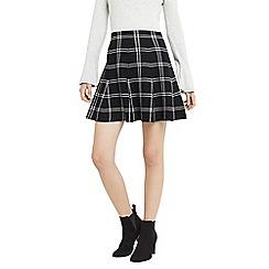Oasis - Checked skirt