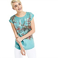 Oasis - Maybelle sequin woven front