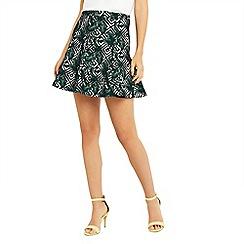 Oasis - Tropical geo flippy skirt