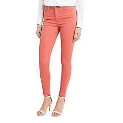 Oasis - Washed rose coloured lily jeans