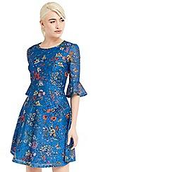 Oasis - Azelia printed lace dress