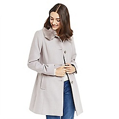 Oasis - Grey 'Olivia' princess coat