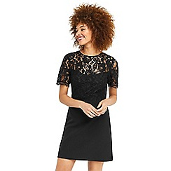 Oasis - Lace bodice shift dress