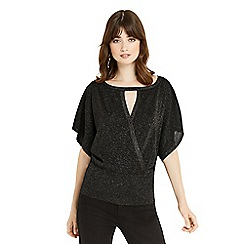 Oasis - Black kaftan knit jumper
