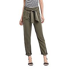 Oasis - Tencel tie belt trouser