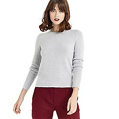 Oasis - Grey perfect crew knit jumper