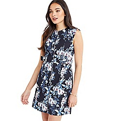 Oasis - Tropical orchid shift dress