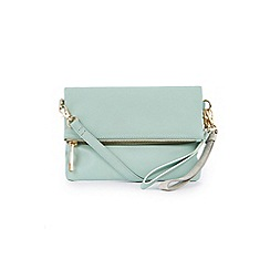Oasis - Leather lexi multi strap clutch bag