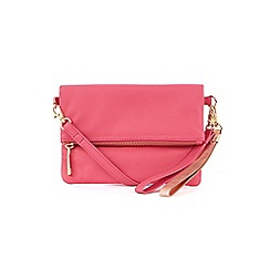 Oasis - Leather lexi multi strap clutch bag