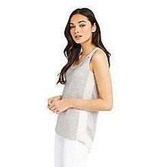 Oasis - Crinkle wrap back vest