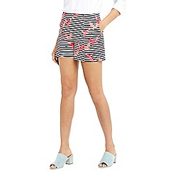 Oasis - Flamingo stripe shorts
