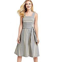 Oasis - Stripe midi dress