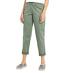 Oasis - Cotton sateen cargo trousers