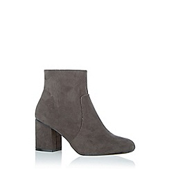 Oasis - Grey 'Kitty' ankle boots