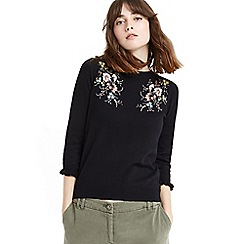 Oasis - Shipwrecked embroidered knit jumper