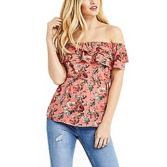 Oasis - Rose bardot top