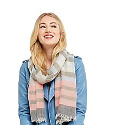 Oasis - Block stripe neon scarf