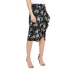 Oasis - Ruffle pencil skirt