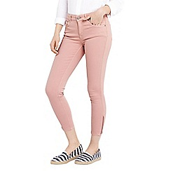 Oasis - Dusty rose coloured Isabella jeans