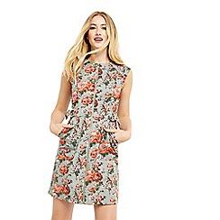 Oasis - Rose texture shift dress