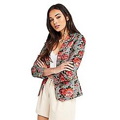 Oasis - Rose print suit jacket