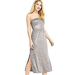 Oasis - Foil marl bandeau dress