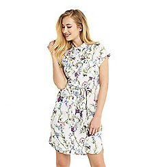 Oasis - Viscose shirt dress