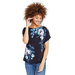 Oasis - Botanical cold shoulder top